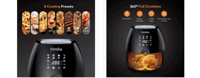 design friggitrice