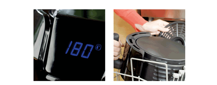 accessori friggitrice aria moulinex